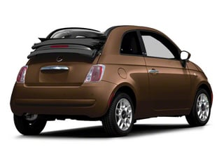 Espresso 2012 FIAT 500 Pictures 500 Convertible 2D Lounge photos rear view