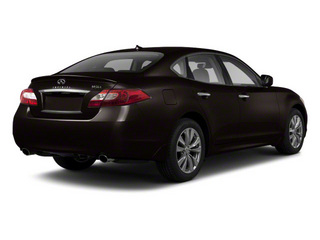 Malbec Black 2012 INFINITI M56 Pictures M56 Sedan 4D photos rear view
