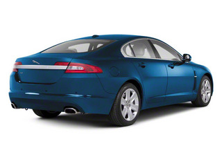 Crystal Blue 2012 Jaguar XF Pictures XF Sedan 4D photos rear view