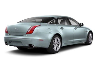 Crystal Blue 2012 Jaguar XJ Pictures XJ Sedan 4D L photos rear view