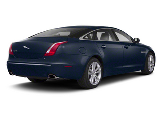 Indigo Blue 2012 Jaguar XJ Pictures XJ Sedan 4D L photos rear view