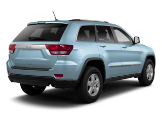 Winter Chill Pearl 2012 Jeep Grand Cherokee Pictures Grand Cherokee Utility 4D Overland 2WD photos rear view
