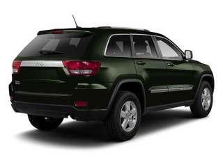 Black Forest Green Pearl 2012 Jeep Grand Cherokee Pictures Grand Cherokee Utility 4D Laredo 2WD photos rear view