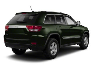 Black Forest Green Pearl 2012 Jeep Grand Cherokee Pictures Grand Cherokee Utility 4D Overland 2WD photos rear view