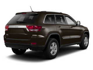 Rugged Brown Pearl 2012 Jeep Grand Cherokee Pictures Grand Cherokee Utility 4D Overland 2WD photos rear view
