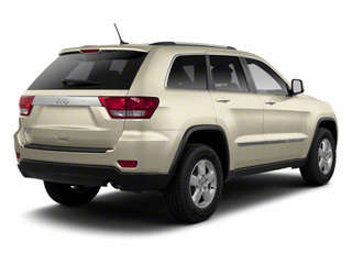 White Gold 2012 Jeep Grand Cherokee Pictures Grand Cherokee Utility 4D Overland 2WD photos rear view