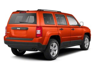 Copperhead Pearl 2012 Jeep Patriot Pictures Patriot Utility 4D Latitude 2WD photos rear view