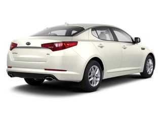 Snow White Pearl 2012 Kia Optima Pictures Optima Sedan 4D LX photos rear view