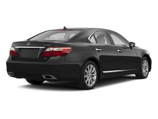 Nebula Gray Pearl 2012 Lexus LS 460 Pictures LS 460 Sedan 4D LS460L photos rear view