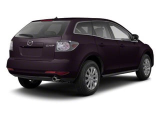 Black Cherry Mica 2012 Mazda CX-7 Pictures CX-7 Wagon 4D s GT AWD photos rear view