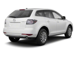 Crystal White Pearl Mica 2012 Mazda CX-7 Pictures CX-7 Wagon 4D s Touring photos rear view