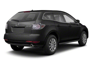 Brilliant Black 2012 Mazda CX-7 Pictures CX-7 Wagon 4D s Touring AWD photos rear view
