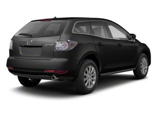 Brilliant Black 2012 Mazda CX-7 Pictures CX-7 Wagon 4D i Touring photos rear view