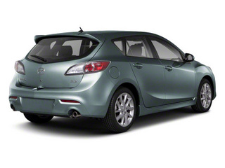 Dolphin Gray Mica 2012 Mazda Mazda3 Pictures Mazda3 Wagon 5D s GT photos rear view