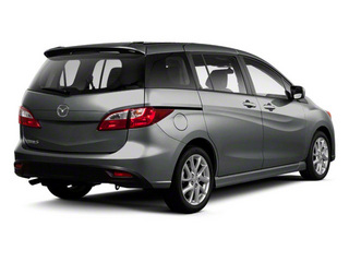 Metropolitan Gray 2012 Mazda Mazda5 Pictures Mazda5 Wagon 5D Touring photos rear view