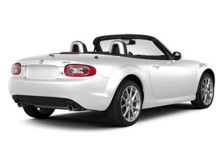 Crystal White Pearl Mica 2012 Mazda MX-5 Miata Pictures MX-5 Miata Convertible 2D Sport photos rear view