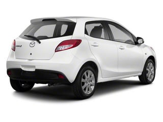 Crystal White Pearl 2012 Mazda Mazda2 Pictures Mazda2 Hatchback 5D photos rear view