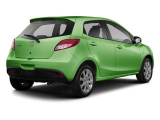 Spirited Green Metallic 2012 Mazda Mazda2 Pictures Mazda2 Hatchback 5D photos rear view