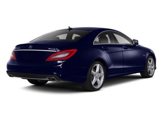 designo Mystic Blue Metallic 2012 Mercedes-Benz CLS-Class Pictures CLS-Class Sedan 4D CLS63 AMG photos rear view