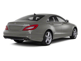 Palladium Silver Metallic 2012 Mercedes-Benz CLS-Class Pictures CLS-Class Sedan 4D CLS63 AMG photos rear view
