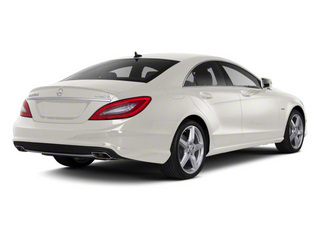 Diamond White Metallic 2012 Mercedes-Benz CLS-Class Pictures CLS-Class Sedan 4D CLS63 AMG photos rear view