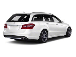 Arctic White 2012 Mercedes-Benz E-Class Pictures E-Class Wagon 4D E350 AWD photos rear view
