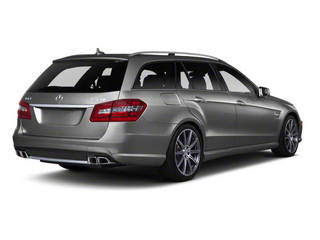 Iridium Silver Metallic 2012 Mercedes-Benz E-Class Pictures E-Class Wagon 4D E350 AWD photos rear view