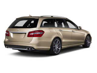 Pearl Beige Metallic 2012 Mercedes-Benz E-Class Pictures E-Class Wagon 4D E350 AWD photos rear view