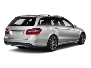 Indium Grey Metallic 2012 Mercedes-Benz E-Class Pictures E-Class Wagon 4D E350 AWD photos rear view