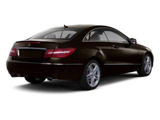 designo Mocha Black Metallic 2012 Mercedes-Benz E-Class Pictures E-Class Coupe 2D E550 photos rear view