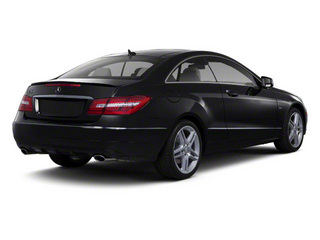 Black 2012 Mercedes-Benz E-Class Pictures E-Class Coupe 2D E550 photos rear view