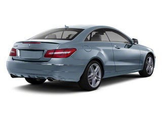 Quartz Blue Metallic 2012 Mercedes-Benz E-Class Pictures E-Class Coupe 2D E550 photos rear view