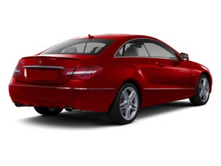 Mars Red 2012 Mercedes-Benz E-Class Pictures E-Class Coupe 2D E550 photos rear view