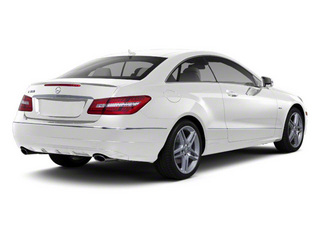 Arctic White 2012 Mercedes-Benz E-Class Pictures E-Class Coupe 2D E550 photos rear view