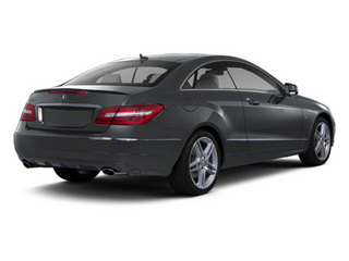 Steel Grey Metallic 2012 Mercedes-Benz E-Class Pictures E-Class Coupe 2D E550 photos rear view