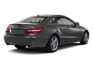 Iridium Silver Metallic 2012 Mercedes-Benz E-Class Pictures E-Class Coupe 2D E550 photos rear view
