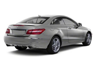 Palladium Silver Metallic 2012 Mercedes-Benz E-Class Pictures E-Class Coupe 2D E550 photos rear view