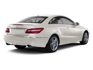 Diamond White Metallic 2012 Mercedes-Benz E-Class Pictures E-Class Coupe 2D E550 photos rear view