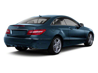 Lunar Blue Metallic 2012 Mercedes-Benz E-Class Pictures E-Class Coupe 2D E550 photos rear view
