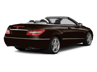 designo Mocha Black Metallic 2012 Mercedes-Benz E-Class Pictures E-Class Convertible 2D E350 photos rear view