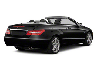 Black 2012 Mercedes-Benz E-Class Pictures E-Class Convertible 2D E350 photos rear view
