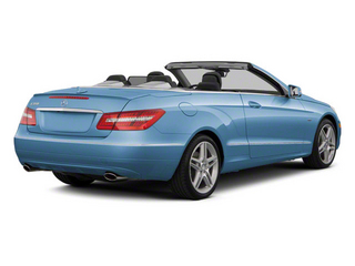 Quartz Blue Metallic 2012 Mercedes-Benz E-Class Pictures E-Class Convertible 2D E350 photos rear view