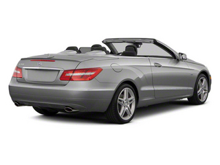 Iridium Silver Metallic 2012 Mercedes-Benz E-Class Pictures E-Class Convertible 2D E350 photos rear view