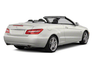 Diamond White Metallic 2012 Mercedes-Benz E-Class Pictures E-Class Convertible 2D E350 photos rear view