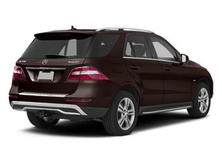 Dakota Brown Metallic 2012 Mercedes-Benz M-Class Pictures M-Class Utility 4D ML350 BlueTEC AWD photos rear view