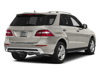 Arctic White 2012 Mercedes-Benz M-Class Pictures M-Class Utility 4D ML550 AWD photos rear view