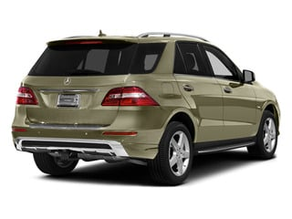 Pearl Beige Metallic 2012 Mercedes-Benz M-Class Pictures M-Class Utility 4D ML550 AWD photos rear view