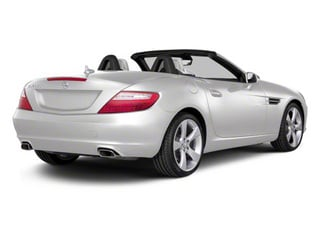 Arctic White 2012 Mercedes-Benz SLK-Class Pictures SLK-Class Roadster 2D SLK350 photos rear view