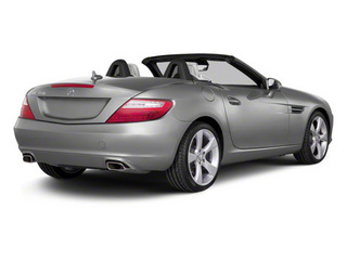 Iridium Silver Metallic 2012 Mercedes-Benz SLK-Class Pictures SLK-Class Roadster 2D SLK350 photos rear view