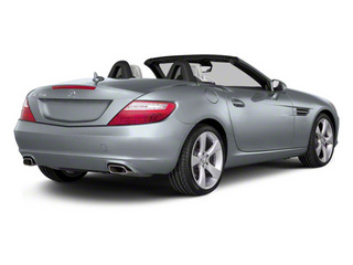 Silver Mist Metallic 2012 Mercedes-Benz SLK-Class Pictures SLK-Class Roadster 2D SLK350 photos rear view